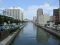 2019.6.11 (34) 堀川 - 古渡橋からかわかみをみる 2000-1500