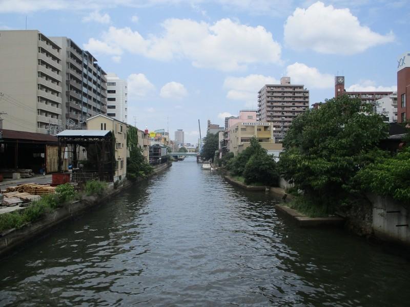 2019.6.11 (37) 堀川 - 山王橋からかわかみをみる 2000-1500