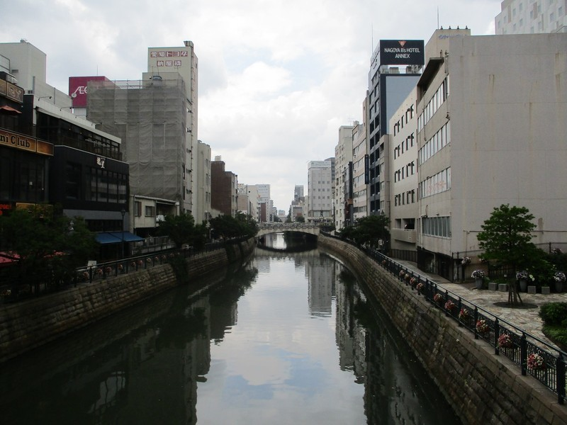 2019.6.11 (65) 堀川 - 納屋橋からかわかみをみる 1600-1200