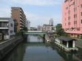 2019.6.11 (93) 堀川 - 幅下橋からかわかみをみる 2000-1500