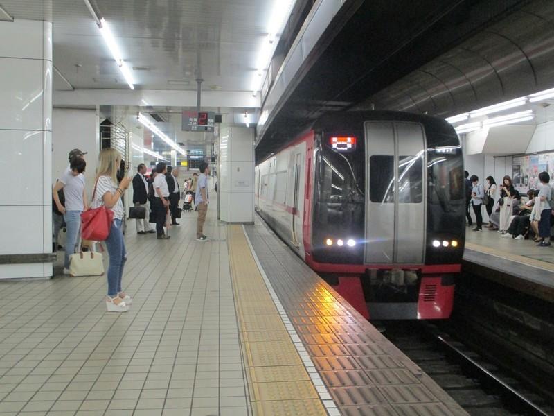 2019.6.11 (し) 名古屋 - 豊橋いき特急 1600-1200
