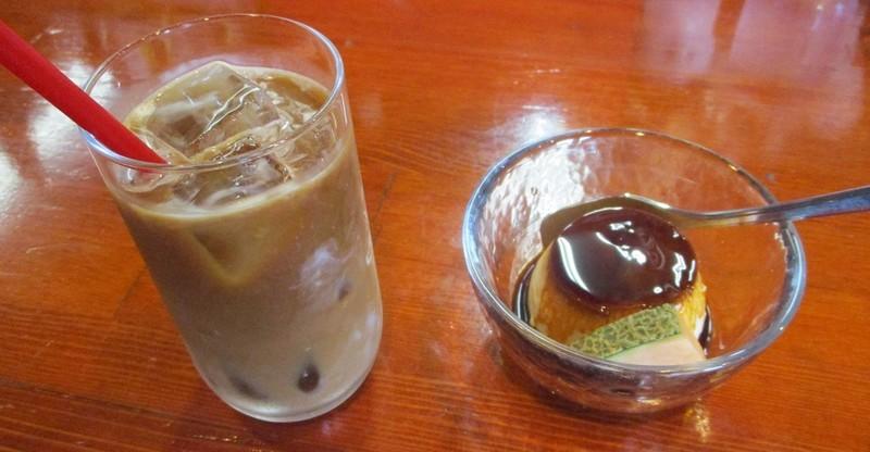 2019.6.13 (25) フレスコ - アイスコーヒーとプリン 1000-520