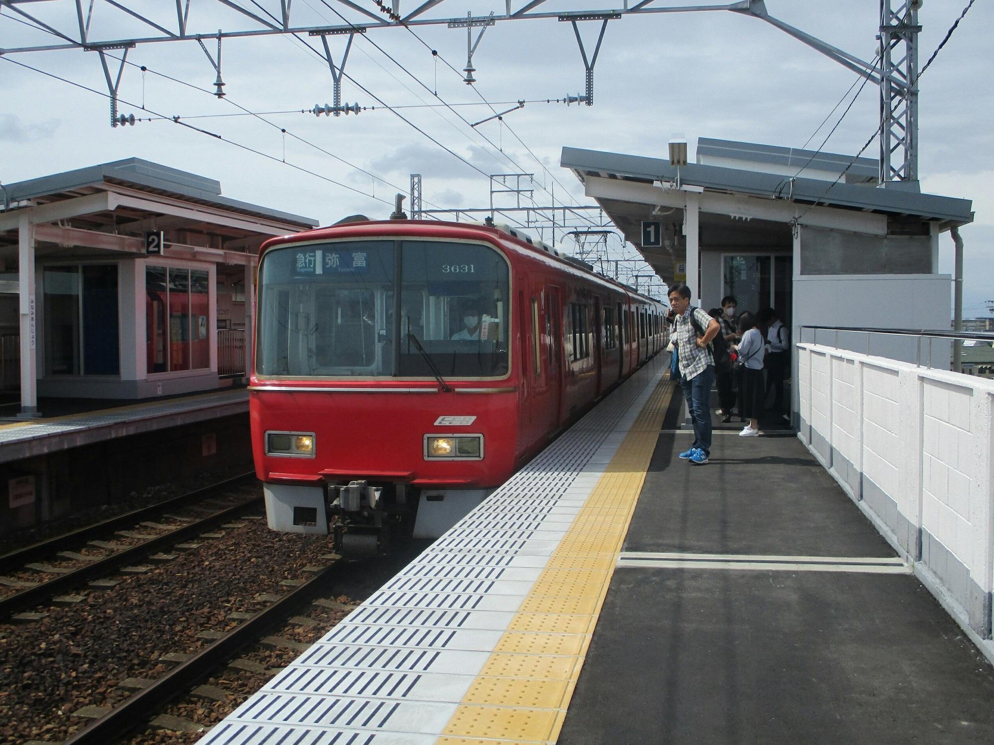 2019.6.14 (4) みなみあんじょう - 弥富いき急行 2000-1500