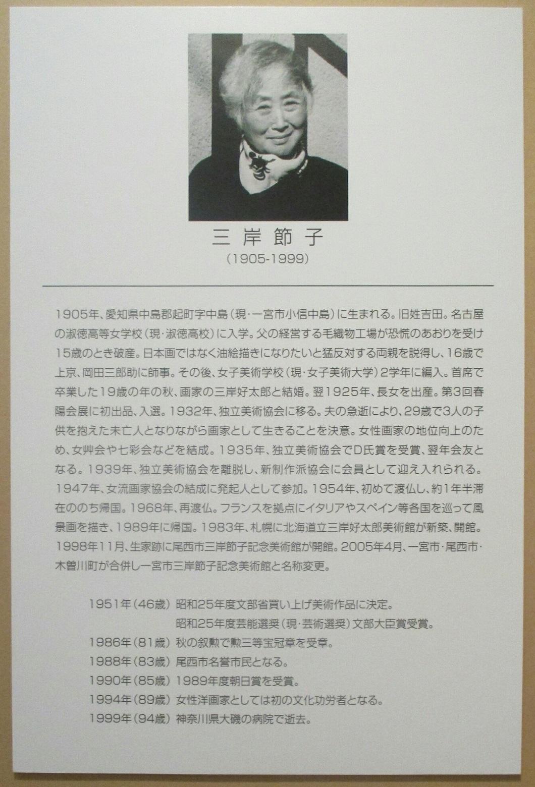 2019.6.18 (21) 三岸節子記念美術館 - 三岸節子について 1060-1560