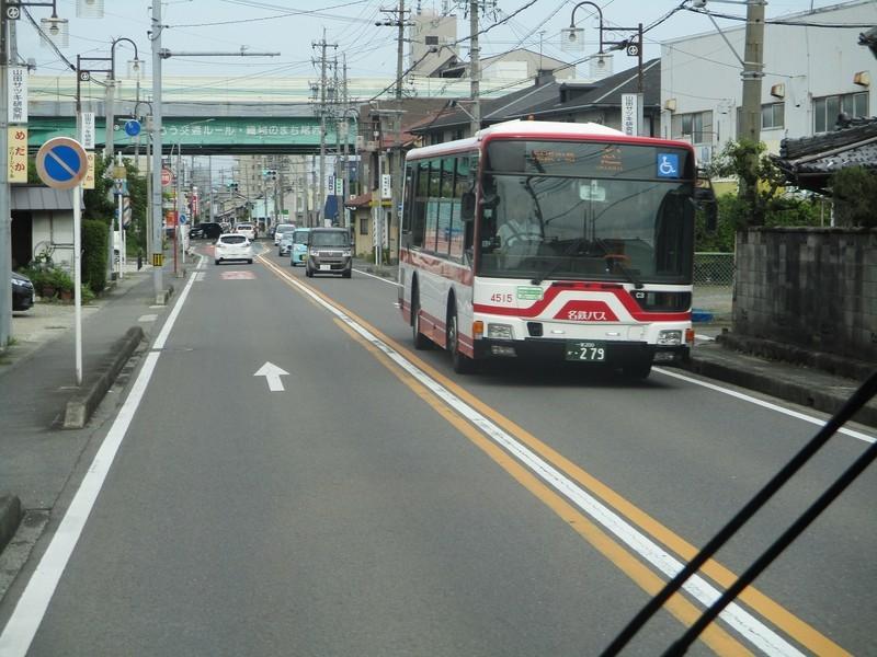 2019.6.18 (40) 名鉄一宮駅いきバス - 篭屋バス停すぎ 2000-1500