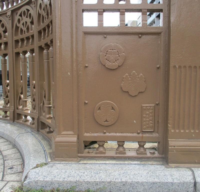 2019.6.26 (24) 納屋橋 - 欄干(信長、秀吉、家康のもんどころ) 1250-1200