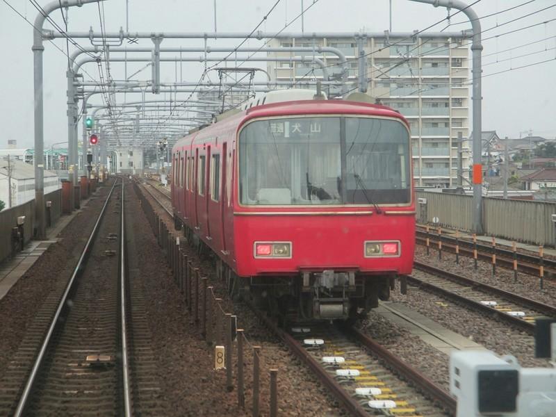 2019.6.30 (25) 岐阜いき特急 - 左京山鳴海間(留置電車) 2000-1500