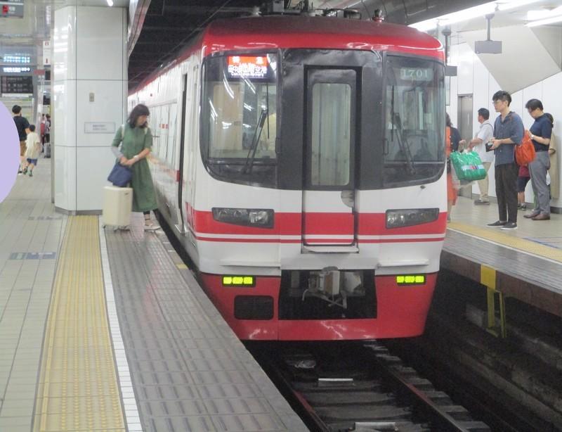 2019.6.30 (89) 名古屋 - セントレアいき特急 1760-1350