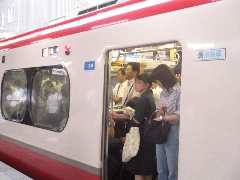 2019.7.8 (2) 18:39 知立 - 豊橋いき快速特急 1600-1200