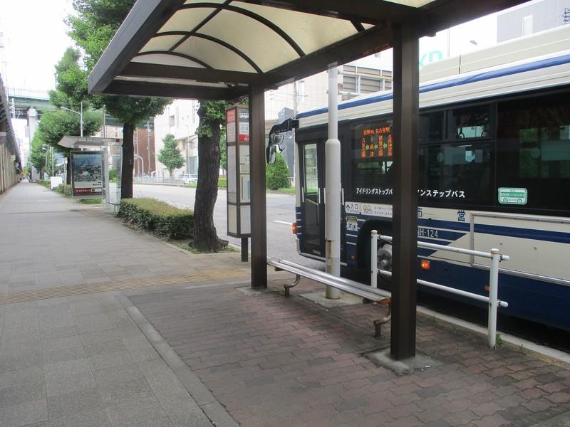 2019.7.9 (9) 六反公園バス停 - 名古屋駅いきバス 1600-1200