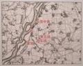 2019.7.10 (6) 尾西歴史民俗資料館 - 起五ヶ村の地図(1891年ごろ) 1620-1290