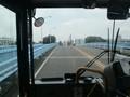 2019.7.17 (2) 多加良浦いきバス - 大瀬子橋をわたる 1600-1200
