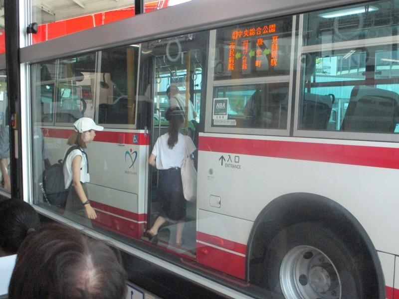 2019.7.24 (4) JR岡崎駅いきバス - 東岡崎(中央総合公園いきバス) 1600-1200