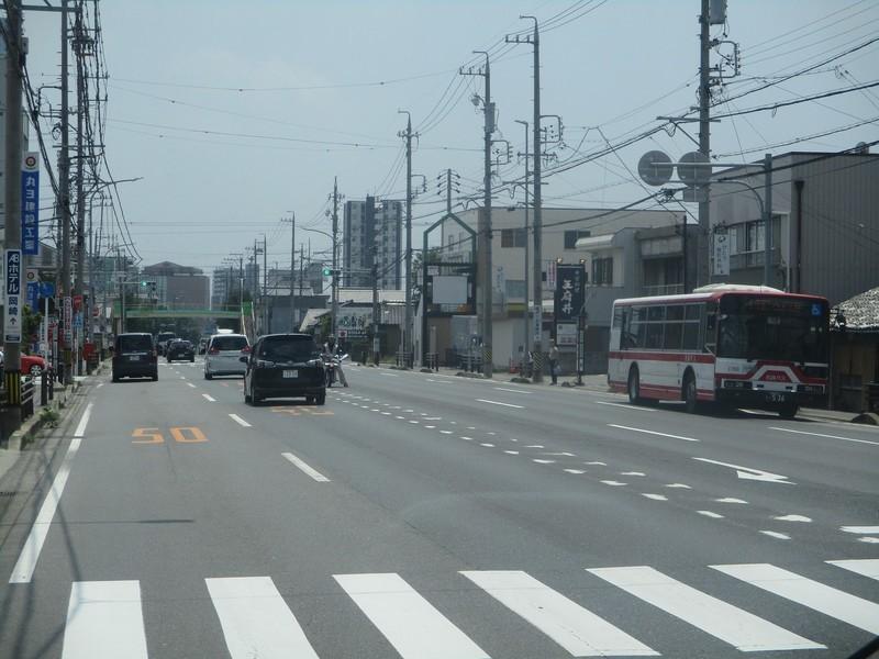2019.7.24 (5) JR岡崎駅いきバス - 戸崎町バス停 1600-1200