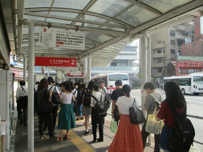 2019.7.25 (6) 知立 - バスのりば 2000-1500