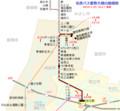 名鉄バス愛教大線の路線図(路線図ドットコム) 640-590
