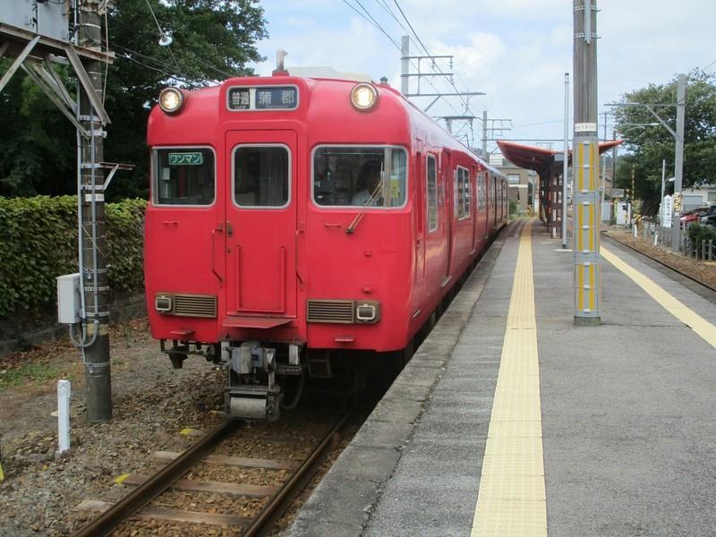 2019.8.14 (4) 東幡豆 - 蒲郡いきふつう 2000-1500