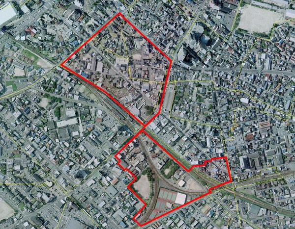 知立駅周辺土地区画整理事業区域 600-467
