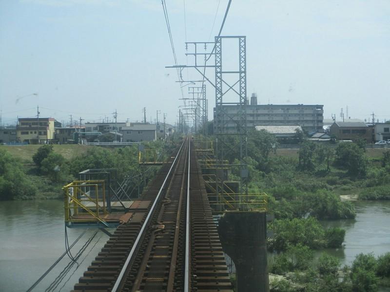 2019.8.18 (3) 西尾いきふつう - 矢作川をわたる 1600-1200