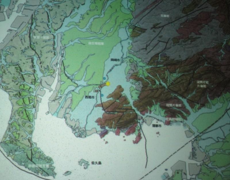 2019.8.18 (9) 西尾市史講座「弥生時代の西尾」 - 地形図 1380-1080