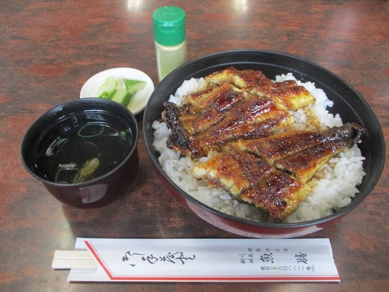 2019.8.20 (53) 魚勝 - 特上うなぎどんぶり 1600-1200