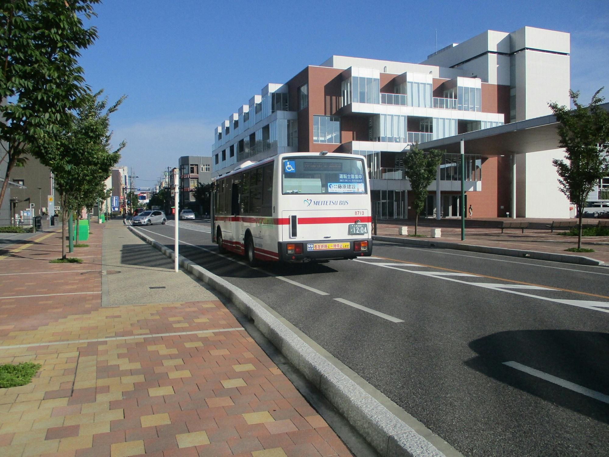 2019.8.26 (19) アンフォーレバス停 - 更生病院いきバス 2000-1500