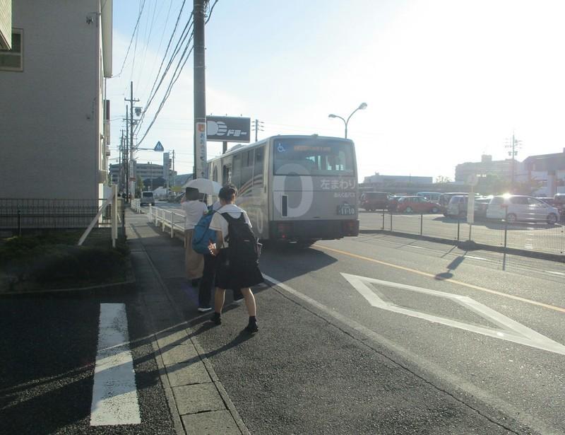2019.8.26 (22) 保健センターバス停 - あんくるバス 1560-1200