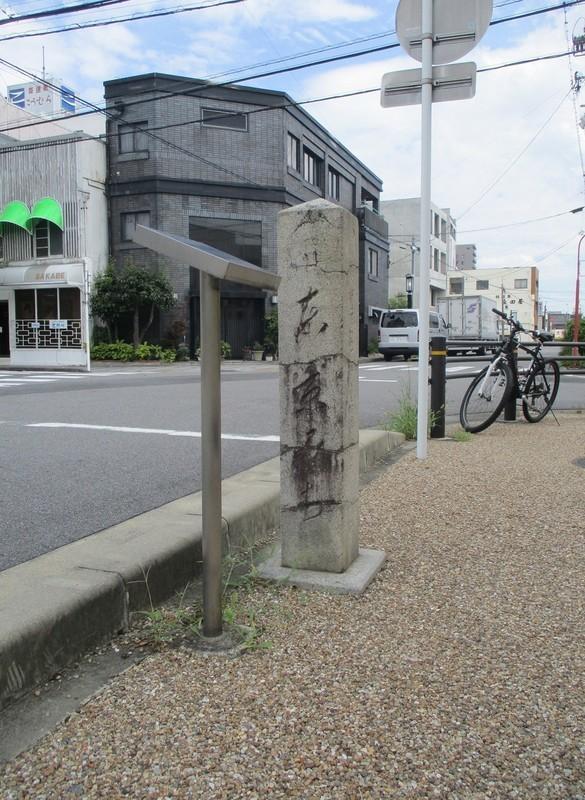 2019.8.31 (29) 東海道岡崎城下27まがり - 「へ」みちしるべ 1170-1600