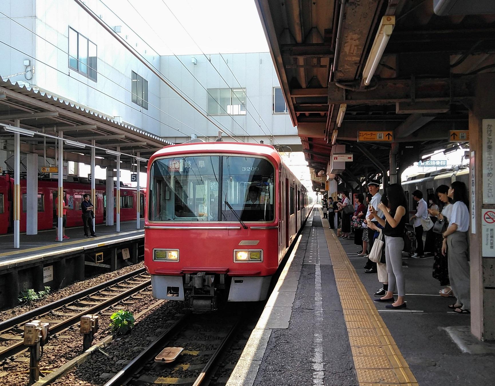 2019.9.2 (7) しんあんじょう - 岐阜いき特急 1730-1350