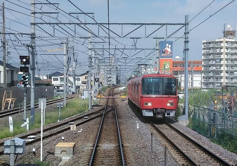 2019.9.2 (10) 岐阜いき特急 - 知立すぎ 1200-840