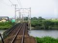 2019.9.4 (10) 亀山いきふつう - 日光川をわたる 1600-1200