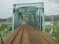 2019.9.4 (22) 亀山いきふつう - 町屋川鉄橋 2000-1500