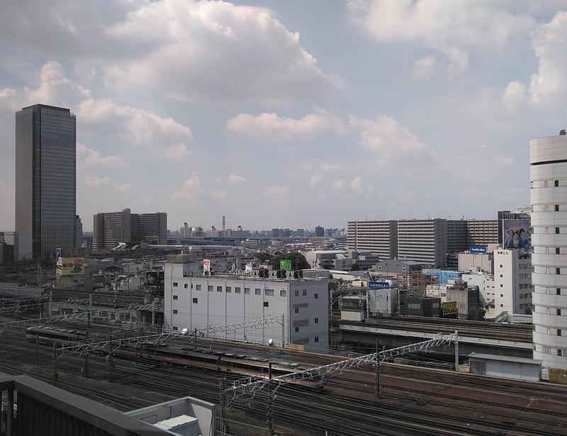 2019.9.11 (19) 名駅の高層ビルから西南方向をみる 1170-900