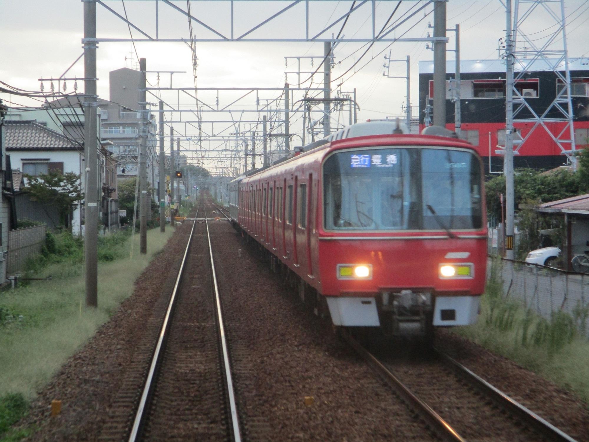 2019.9.14 (22) 岐阜いき急行 - 矢作橋宇頭間 2000-1500