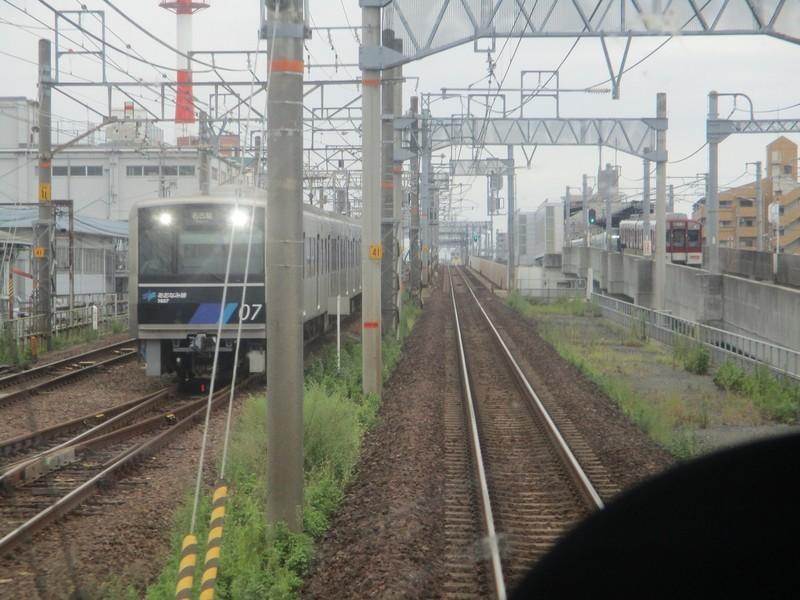 2019.9.18 (21) 四日市いきふつう - 名古屋八田間(あおなみ線電車) 1600-1200