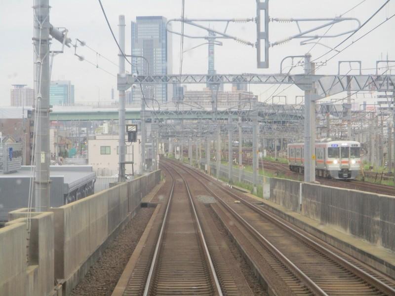 2019.9.18 (29) 名古屋いきふつう - 烏森黄金間(亀山いき快速) 1600-1200