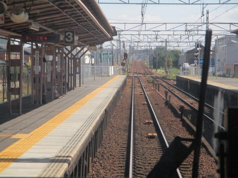 2019.9.30 (9) 東岡崎いきふつう - 矢作橋 1600-1200