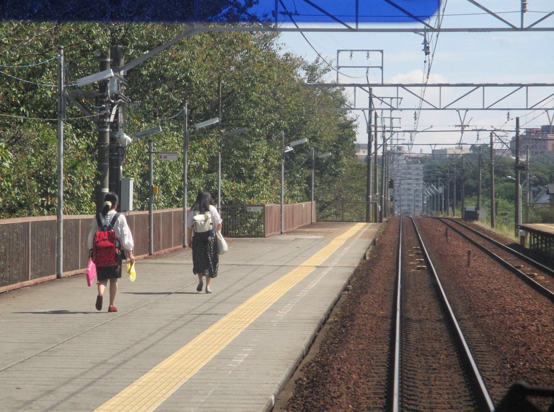 2019.9.30 (12) 東岡崎いきふつう - 岡崎公園前 1800-1340