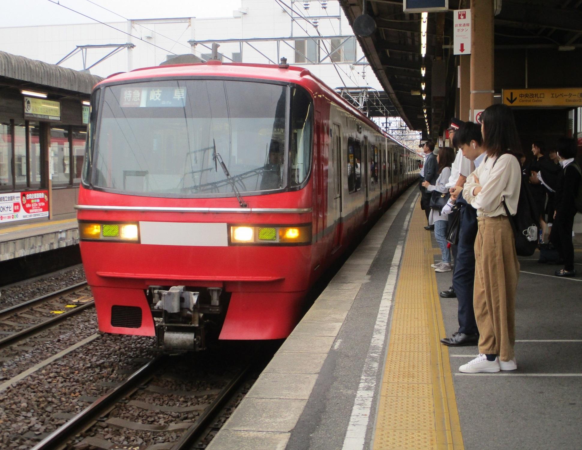 2019.10.7 (34) 東岡崎 - 岐阜いき特急 1940-1500