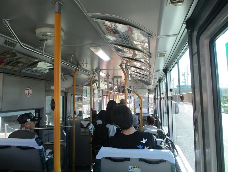 2019.10.9 (7) 中央総合公園いきバス - 岡崎げんき館前バス停 1590-1200