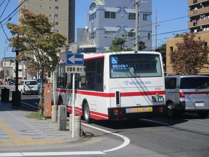 2019.10.9 (22) 徳王神社前バス停 - 美合駅いきバス 2000-1500