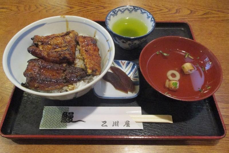 2019.10.9 (36) 乙川屋 - うなぎどんぶり(なみ) 1200-800