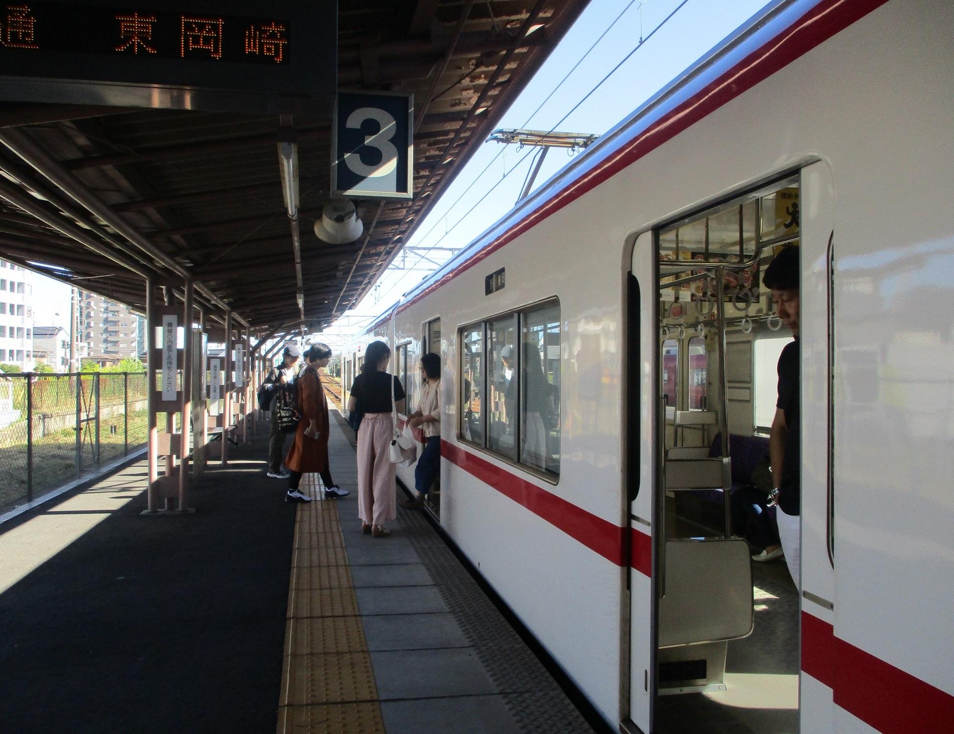 2019.10.13 (16) 矢作橋 - 東岡崎いきふつう 1950-1500