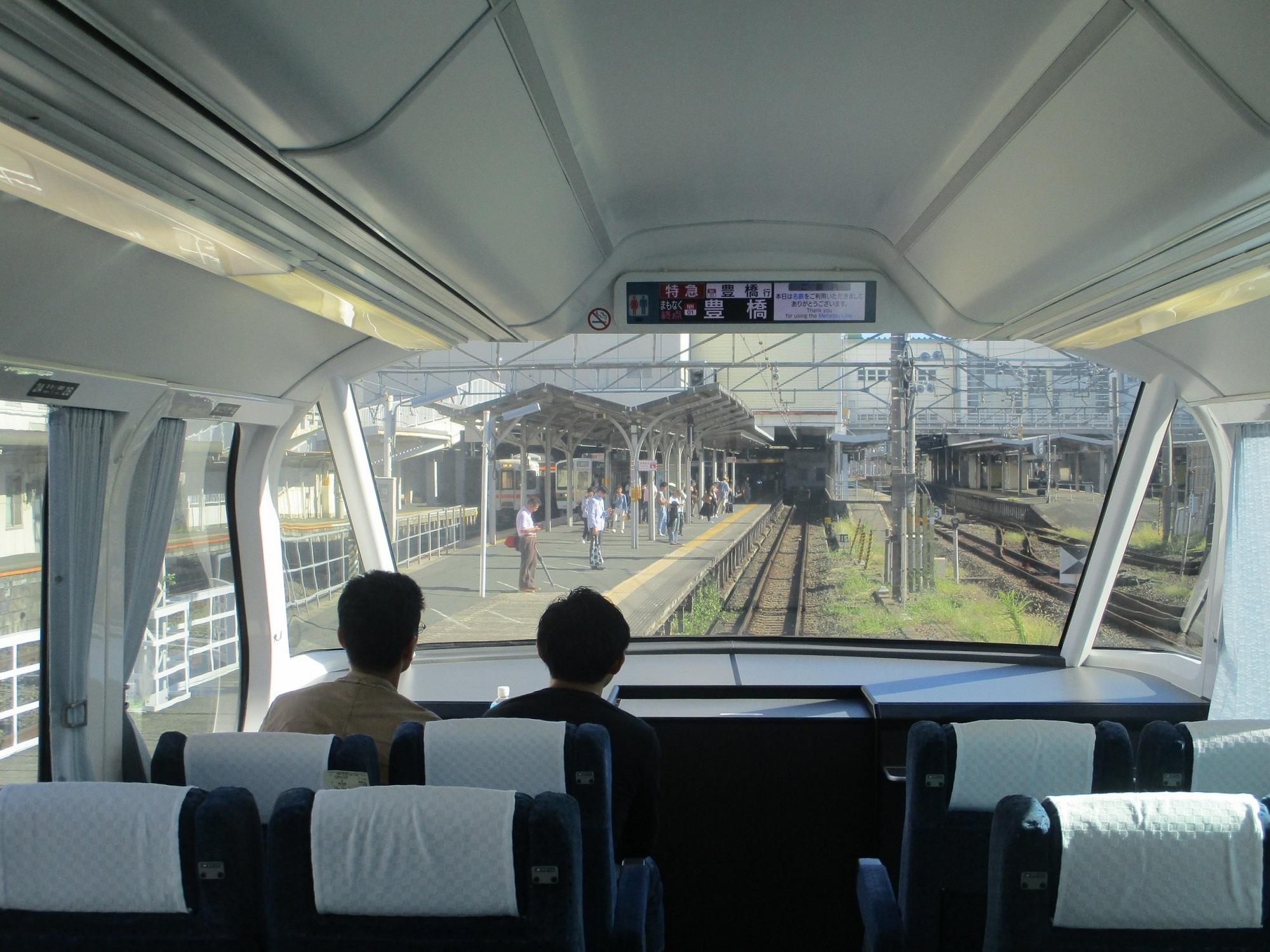 2019.10.13 (27) 豊橋いき特急 - 豊橋 2000-1500