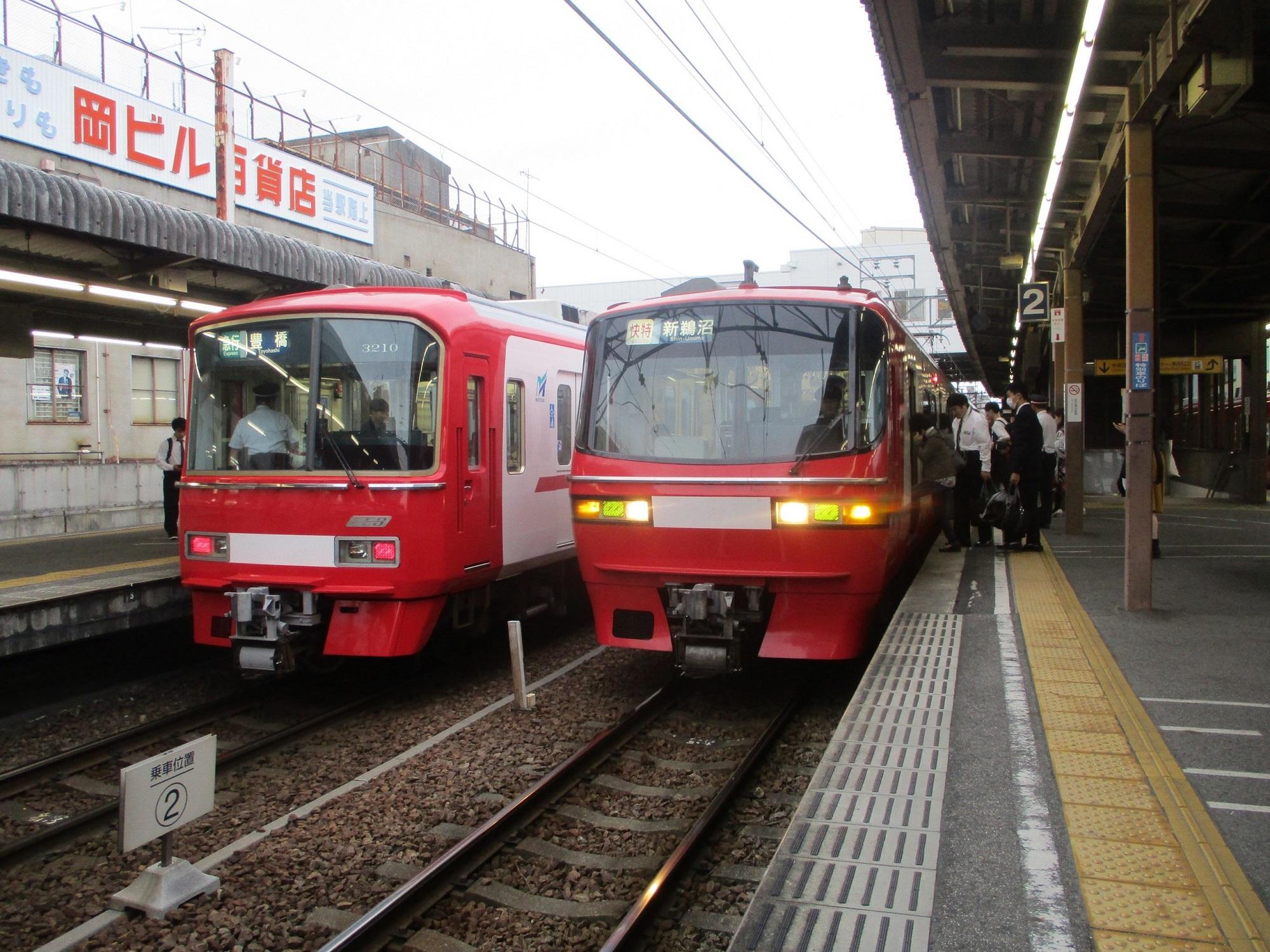 2019.10.17 (21) 東岡崎 - 新鵜沼いき快速特急 2000-1500