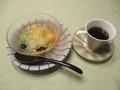 2019.10.20 (36) はづ木 - しろキクラゲのデザートとたんぽぽコーヒー 1600-12