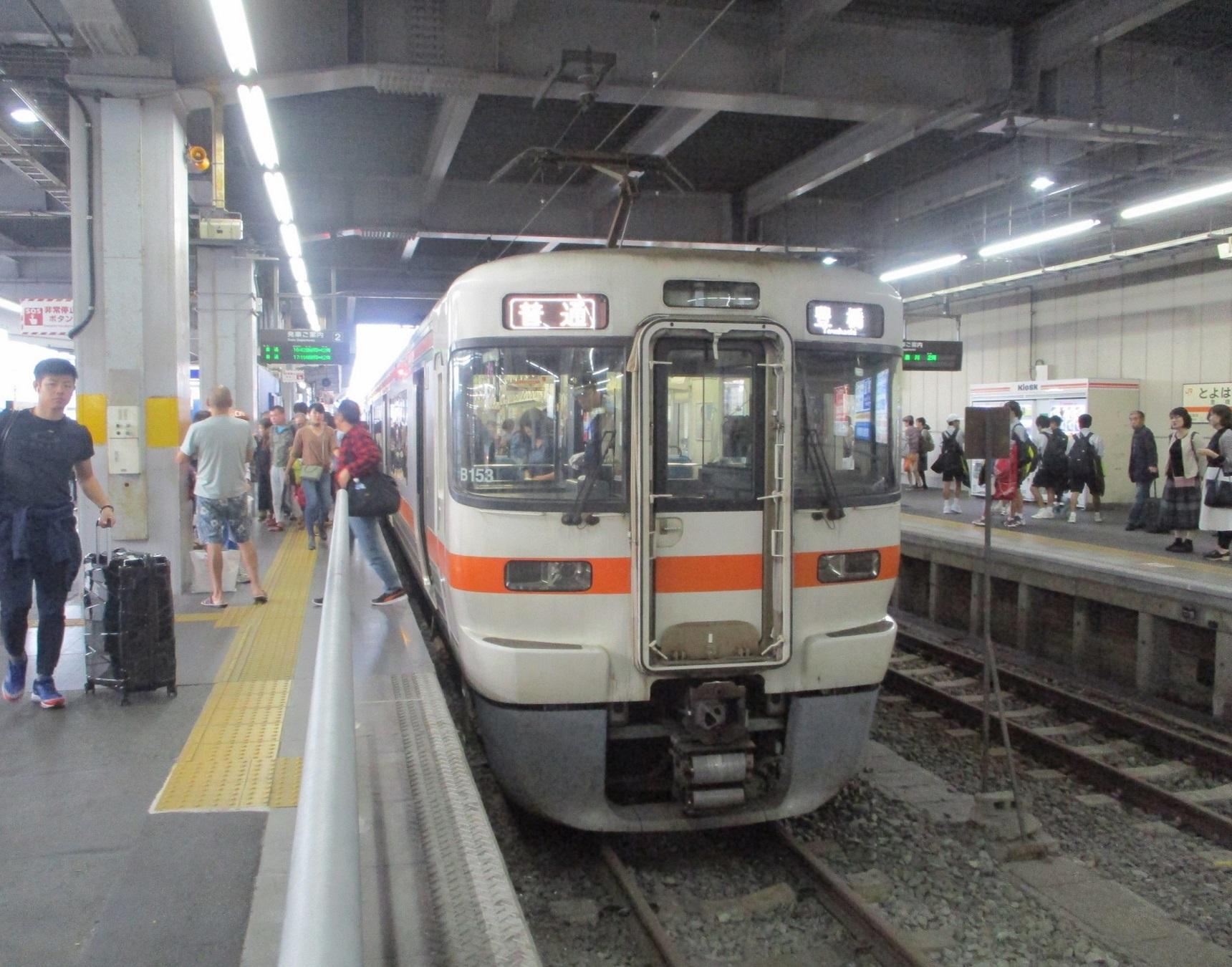 2019.10.20 (53) 豊橋 - 豊橋いきふつう 1720-1350
