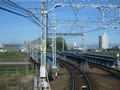 2019.10.23 (47) 岐阜いき特急 - 庄内川鉄橋 2000-1500