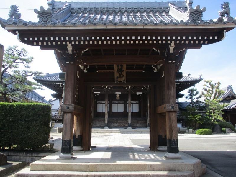 2019.10.23 (94) 瀬辺西宝寺 - 山門 2000-1500