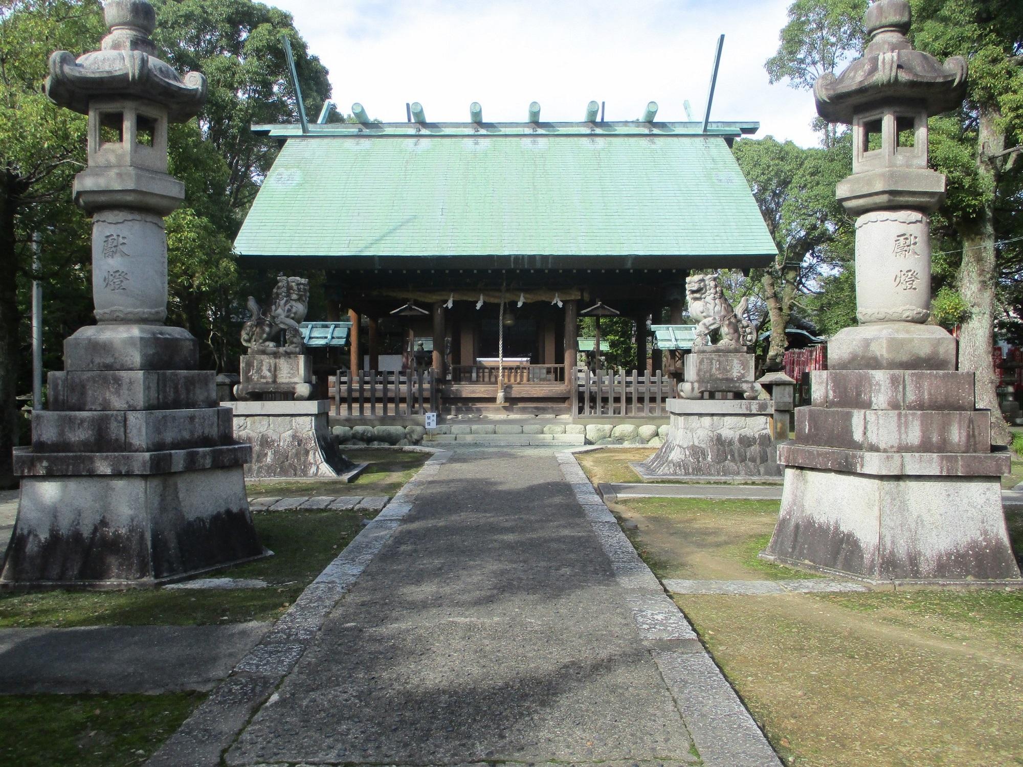 2019.10.23 (103) 貴船神明社 - 拝殿 2000-1500